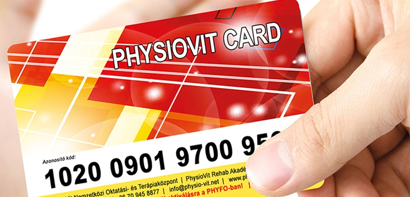 PhysioVit Card (PhysioCard)